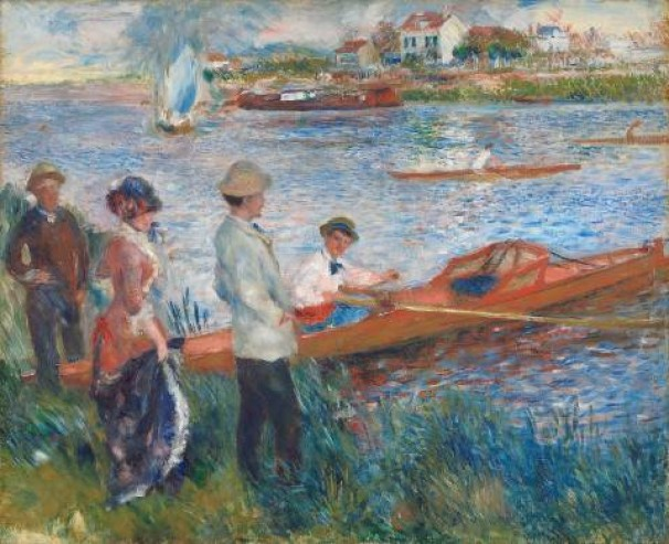 Impressionists on the Water at the Legion of Honor – San Francisco