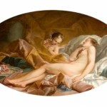"""Venus Asleep"" (1760) - François Boucher"