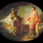 """The New Model"" (1770) - Jean-Honoré Fragonard"