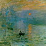 """Impression Sunrise"" (1872) - Claude Monet"
