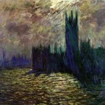 """Parliament"" (1905) - Claude Monet"