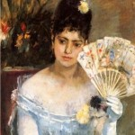 """At the Ball"" (1875) - Berthe Morisot"