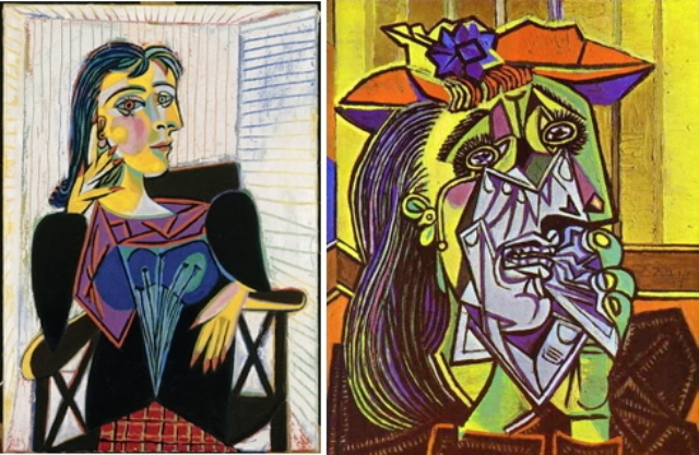 pablo picasso weeping woman essay Hi i'm doing an essay on pablo picasso -just some basic info about him - his painting styles -how he developed over time as an artist - some info.
