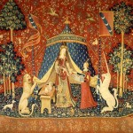 """""""To My Only Desire"""" (""""Unicorn and the Lady"""" Tapestry) - 1485"""