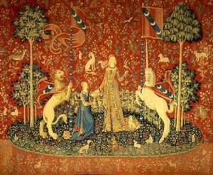 """""""Taste"""" (""""Unicorn and the Lady Tapestry"""") - 1485"""