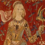 """Taste"" (Detail of ""Unicorn and the Lady"" Tapestry) - 1485"