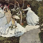 """Women in the Garden"" (1866) - Claude Monet"