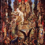 """Jupiter and Semele"" (1895) - Gustave Moreau"