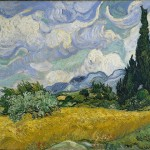 """Wheat Field with Cypresses"" (1889) - Van Gogh"