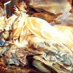 """""""The Cashmere Shawl"""" (1911) - Sargent"""