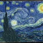 """The Starry Night"" (1889) - van Gogh"