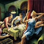 """Poker Night"" (1948) - Benton"