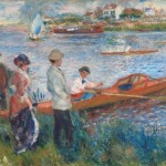 """Oarsmen at Chatou"" (1879) - Renoir"