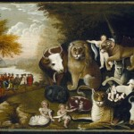 """The Peaceable Kingdom"" (1830) - Hicks"