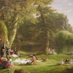 """A Pic-Nic Party"" (1846) - Cole"