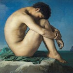 """Young Man Beside the Sea"" (1836) - Flandrin"