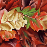 """Autumn Leaves"" (1924) - Georgia O'Keeffe"
