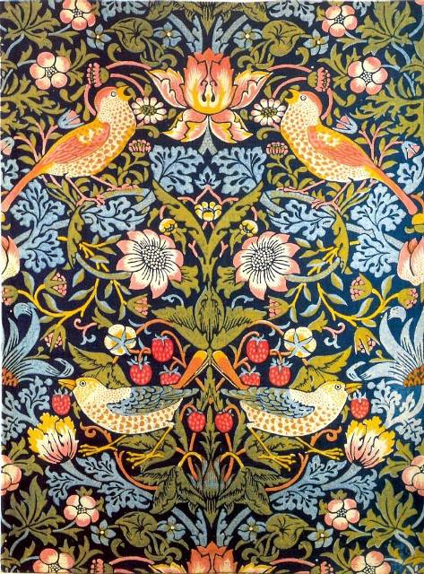 william morris textiles and wallpaper at the met museum. Black Bedroom Furniture Sets. Home Design Ideas