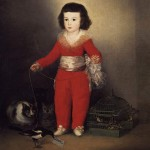 """Portrait of Manuel Osorio Manrique de Zuñiga aka Boy in Red"" (1787-88) - Francisco de Goya y Lucientes"