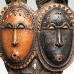 """Mblo Twin Mask (Nda)"" (19th - 20th century) - Ivory Coast"