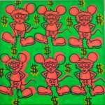 """""""Andy Mou$e"""" (1986) - Keith Haring"""