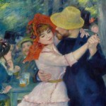 """Dance at Bougival"" (1883) - Pierre-Auguste Renoir"