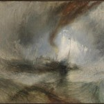 """Snow Storm - Steam-Boat off a Harbor's Mouth"" (1842) - J.M.W. Turner"
